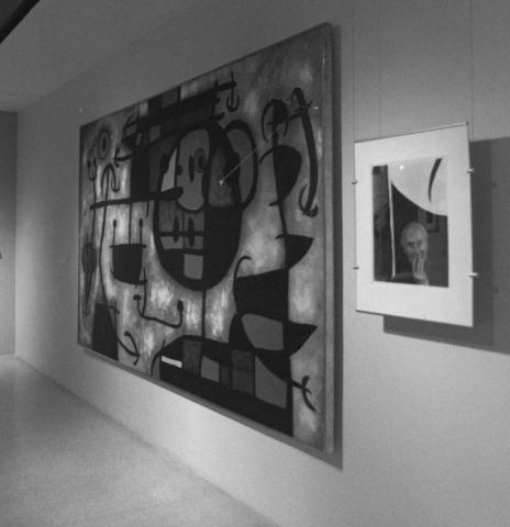Arnold Newman's Americans exhibit display